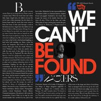 We Can't Be Found