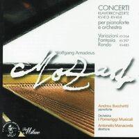 Wolfgang Amadeus Mozart: Klavierkonzerte KV413 & KV414, Fantasia in Re minore KV397, Variazioni KV264 & Rondò in Re minore KV485