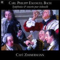 C. P. E. Bach: Symphonies & concerto pour violoncelle