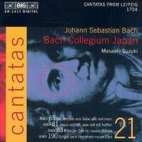 BACH, J.S.: Cantatas, Vol. 21 (Suzuki) - BWV 65, 81, 83, 190