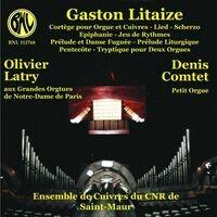 Gaston Litaize: Oeuvres pour orgue