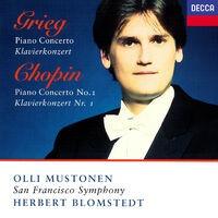 Grieg: Piano Concerto / Chopin: Piano Concerto No. 1