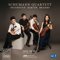 Beethoven, Bartók & Brahms: String Quartets