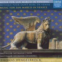 Musik für San Marco in Venedig/Musique Pour Saint Marc De Venise/Music For San Marco In Venice