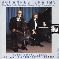 Brahms: Cello Sonatas 1 & 2, & Seven Songs