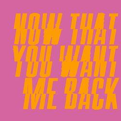 Now That You Want Me Back