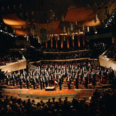 La Filarmónica de Berlín y Sir Simon Rattle en Peralada (Girona)