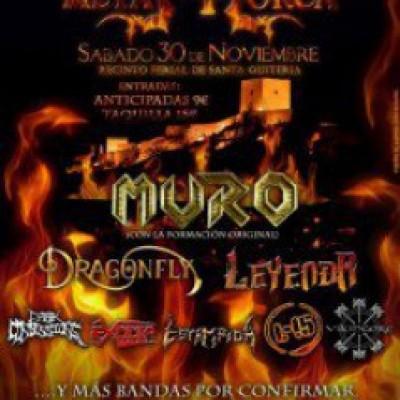 Muro, Dark Confessions, Dragonfly, Leyenda, Exodia, Estampida, l15, Vikingore en Lorca (Murcia)