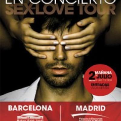 Enrique Iglesias en Madrid