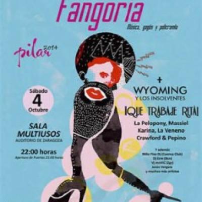 Fangoria, Karina, La Pelopony, Wyoming y Los Insolventes, Massiel en Zaragoza
