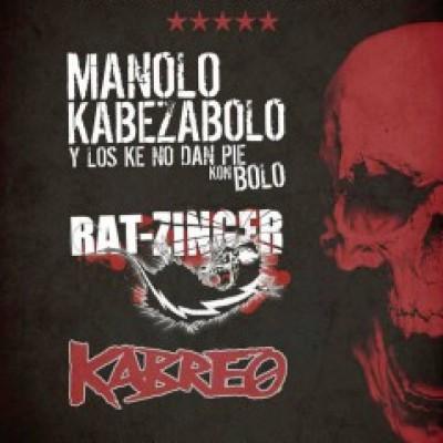Manolo Kabezabolo, Rat-Zinger en Tàrrega (Lleida)