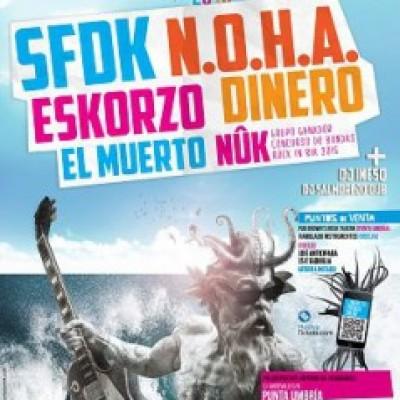 N.O.H.A., SFDK, Eskorzo, Dinero, Nûk, El Muerto en Punta Umbría (Huelva)