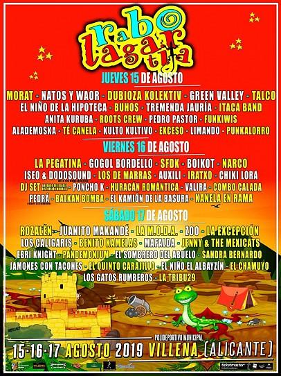 Cartel Festival Rabolagartija 2019