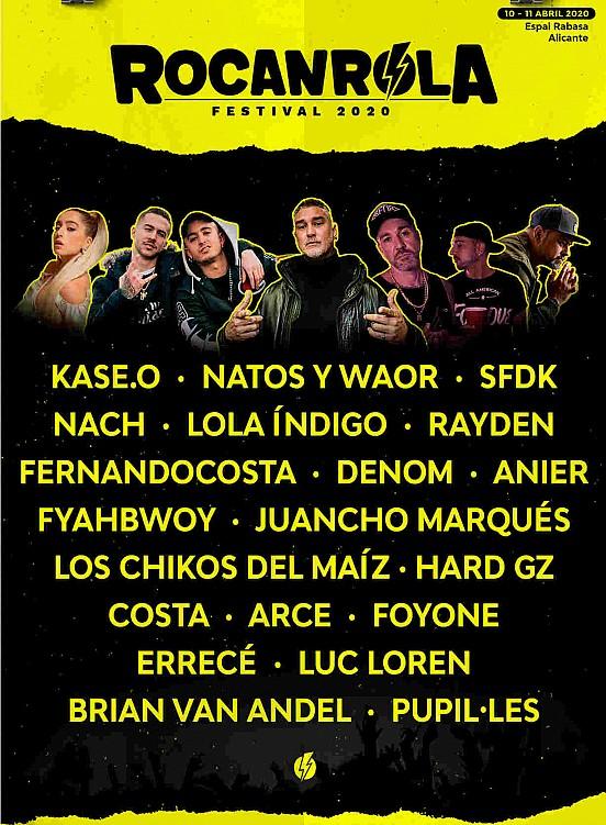 Cartel Festival Rocanrola 2020